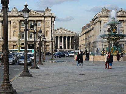 place de la concorde et eglise de la madeleine favorite places spaces pinterest concorde. Black Bedroom Furniture Sets. Home Design Ideas