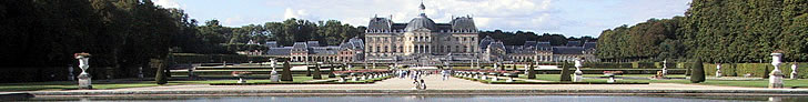 Vaux le Vicomte castle near Paris